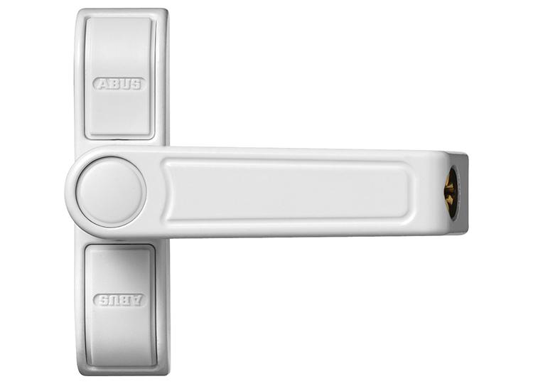 2 Schlüssel Fenster-Zusatzsicherung FTR70 W Zusatzschloss Fenstersicherung Inkl